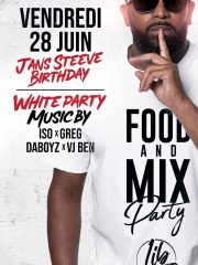 FOOD and MIX PARTY JANS Steeve's BDAY !